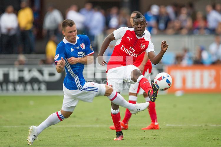 San Jose, CA - Thursday, July 28, 2016: Arsenal defeated MLS All-Stars 2-1 at Avaya Stadium.
