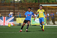 Lionel Stone of Haringey during Haringey Borough vs Herne Bay, Emirates FA Cup Football at Coles Park Stadium on 7th September 2019