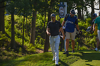 Ross Fisher (ENG) heads down 12 during 1st round of the 100th PGA Championship at Bellerive Country Cllub, St. Louis, Missouri. 8/9/2018.<br /> Picture: Golffile | Ken Murray<br /> <br /> All photo usage must carry mandatory copyright credit (© Golffile | Ken Murray)