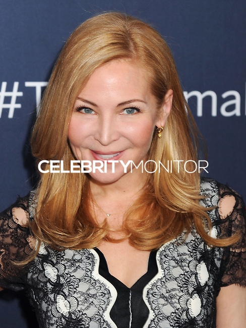 """NEW YORK CITY, NY, USA - MAY 12: Jennifer Westfeldt at the New York Screening Of HBO's """"The Normal Heart"""" held at the Ziegfeld Theater on May 12, 2014 in New York City, New York, United States. (Photo by Celebrity Monitor)"""