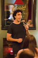 13th July 2019: Comedian Ray Badran performs his show 'Everybody Loves Ray, Man' on day 1 of the 2019 Comedy Crate Festival in Northampton