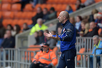 Accrington Stanley manager John Coleman gestures<br /> <br /> Photographer Terry Donnelly/CameraSport<br /> <br /> The EFL Sky Bet League Two - Blackpool v Accrington Stanley - Friday 14th April 2017 - Bloomfield Road - Blackpool<br /> <br /> World Copyright &copy; 2017 CameraSport. All rights reserved. 43 Linden Ave. Countesthorpe. Leicester. England. LE8 5PG - Tel: +44 (0) 116 277 4147 - admin@camerasport.com - www.camerasport.com