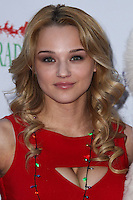 HOLLYWOOD, CA - DECEMBER 01: Hunter King arriving at the 82nd Annual Hollywood Christmas Parade held at Hollywood Boulevard on December 1, 2013 in Hollywood, California. (Photo by Xavier Collin/Celebrity Monitor)