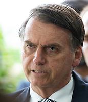 BRASILIA, DF, 04.12.2018 - BOLSONARO-DF- O presidente eleito, Jair Bolsonaro, durante entrevista no CCBB, onde ocorre a transição do Governo, nesta terça, 04.(Foto:Ed Ferreira / Brazil Photo Press)