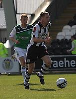 David van Zanten in the St Mirren v Hibernian Clydesdale Bank Scottish Premier League match played at St Mirren Park, Paisley on 29.4.12.