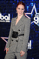 Jess Glynne arriving for the Global Awards 2018 at the Apollo Hammersmith, London, UK. <br /> 01 March  2018<br /> Picture: Steve Vas/Featureflash/SilverHub 0208 004 5359 sales@silverhubmedia.com