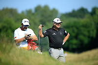 Graeme McDowell (NIR)during the second round of The Northern Trust, Liberty National Golf Club, Jersey City, New Jersey, USA. 09/08/2019.<br /> Picture Michael Cohen / Golffile.ie<br /> <br /> All photo usage must carry mandatory copyright credit (© Golffile | Michael Cohen)