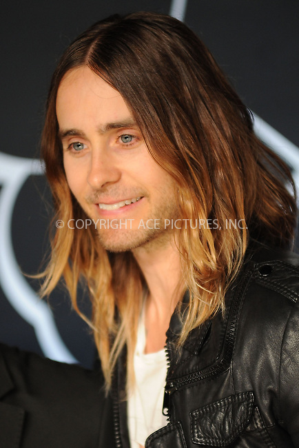 WWW.ACEPIXS.COM<br /> August 25, 2013 New York City <br /> <br /> Jared Leto attending the 2013 MTV Video Music Awards at the Barclays Center on August 25, 2013 in Brooklyn, New York City.<br /> <br /> Please byline: Kristin Callahan<br /> Ace Pictures, Inc: ..tel: (212) 243 8787 or (646) 769 0430..e-mail: info@acepixs.com..web: http://www.acepixs.com