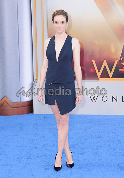"25 May 2017 - Hollywood, California - Danielle Panabaker. World  Premiere of Warner Bros. Pictures'  ""Wonder Woman"" held at The Pantages Theater in Hollywood. Photo Credit: Birdie Thompson/AdMedia"