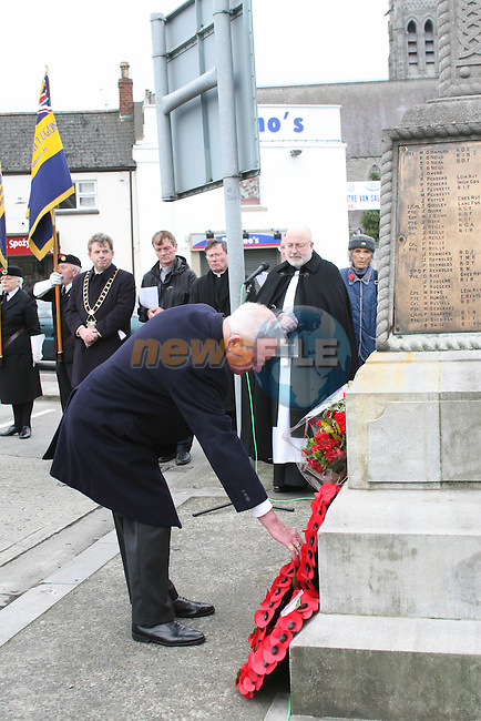 World war One Commemoration, Mary Street, Drogheda...Photo NEWSFILE/Jenny Matthews.(Photo credit should read Jenny Matthews/NEWSFILE)....This Picture has been sent you under the condtions enclosed by:.Newsfile Ltd..The Studio,.Millmount Abbey,.Drogheda,.Co Meath..Ireland..Tel: +353(0)41-9871240.Fax: +353(0)41-9871260.GSM: +353(0)86-2500958.email: pictures@newsfile.ie.www.newsfile.ie.FTP: 193.120.102.198.
