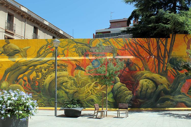Street Art-Graffittis.<br /> Sabadell - Centre.