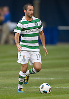July 16, 2010 Marc Crosas No. 17 of Celtic FC during an international friendly between Manchester United and Celtic FC at the Rogers Centre in Toronto.