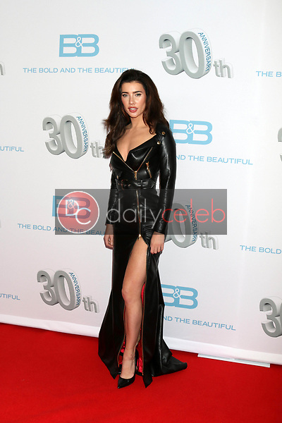 """Jacqueline MacInnes Wood<br /> at the """"The Bold and The Beautiful"""" 30th Anniversary Party, Clifton's Downtown, Los Angeles, CA 03-18-17<br /> David Edwards/DailyCeleb.com 818-249-4998"""
