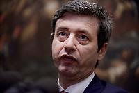 Roma, 31 Maggio 2017<br /> Conferenza stampa del Ministro della Giustizia e leader della Minoranza del Partito Democratico Andrea Orlando sulla legge elettorale