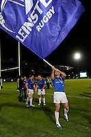 Rob Kearney of Leinster celebrates with fans after winning the Amlin Challenge Cup Final between Leinster Rugby and Stade Francais at the RDS Arena, Dublin on Friday 17th May 2013 (Photo by Rob Munro).