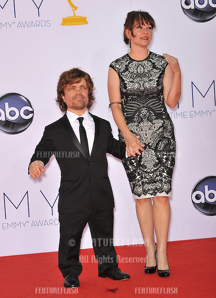 Peter Dinklage at the 64th Primetime Emmy Awards at the Nokia Theatre LA Live..September 23, 2012  Los Angeles, CA.Picture: Paul Smith / Featureflash