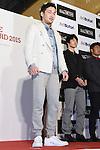 Shinsuke Yamanaka, JANUARY 22, 2015 : Athlete Dresser Award 2015 at Hankyu MEN'S TOKYO in Tokyo, Japan. (Photo by Sho Tamura/AFLO SPORT) [1180]