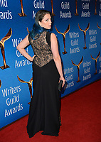 LOS ANGELES, CA. February 17, 2019: Rachel Bloom at the 2019 Writers Guild Awards at the Beverly Hilton Hotel.<br /> Picture: Paul Smith/Featureflash