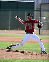 Matt Koch - Arizona Diamondbacks 2016 spring training (Bill Mitchell)