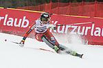 10.03.2018, Ofterschwanger Horn, Ofterschwang, GER, Slalom Weltcup in Ofterschwang, im Bild Maren Skjoeld (NOR, #22)<br /> <br /> Foto &copy; nordphoto / Hafner