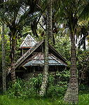 This once fine resort was never restored after hurricane Iniki devastated the Garden Island coast. <br />