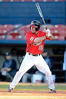 Illinois State Redbirds outfielder Jack Czeszewski (25) during a game against the Long Island Blackbirds at Chain of Lakes Stadium on March 8, 2013 in Winter Haven, Florida.  Illinois State defeated Long Island 6-3.  (Mike Janes/Four Seam Images)
