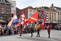 Nederland - Bergen op Zoom - 16 september 2018.   Op zondag 16 september 2018 vindt in Bergen op Zoom de Brabant Stoet plaats. Dit is een grootst opgezet festival van de lopende cultuur. Deze vorm van cultuur is kenmerkend voor Brabant. In de Brabant Stoet zijn zo'n honderd vormen van lopende (en rijdende) cultuur te zien zoals gilden, fanfares, steltlopers, reuzen, carnaval, ommegangen en praalwagens. De Brabant Stoet wordt samengesteld met groepen uit zowel Noord-Brabant als Vlaams- en Waals-Brabant.   Foto Berlinda van Dam / Hollandse Hoogte
