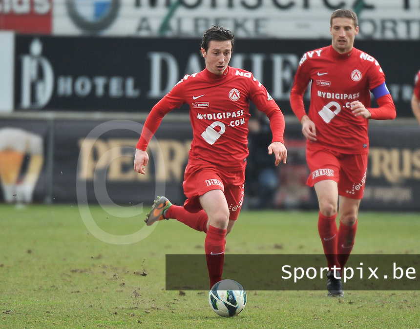 KV Kortrijk : Brecht Dejaegere.foto VDB / BART VANDENBROUCKE
