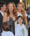 Blake Lively and family at Warner Bros. Pictures World Premiere of Green Lantern held at Grauman's Chinese Theatre in Hollywood, California on June 15,2011                                                                               © 2011 DVS/Hollywood Press Agency