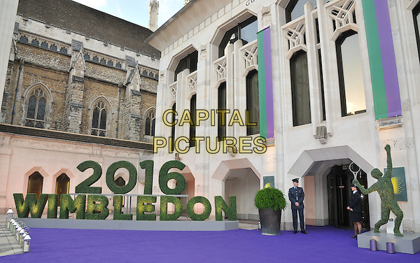 Scene at the Wimbledon Champions Dinner, The Guildhall, Gresham Street, London, England, UK, on Sunday 10 July 2016.<br /> CAP/CAN<br /> &copy;CAN/Capital Pictures