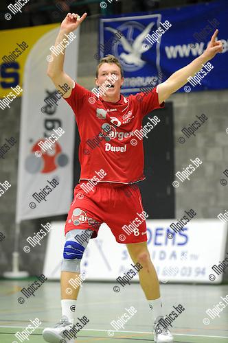 2011-10-08 / Volleybal / seizoen 2011-2012 / Puurs /  Seppe Baetens..Foto: Mpics