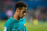 FC Barcelona's forward Neymar Santos Jr  during the match of Copa del Rey between Atletico de  Madrid and Futbol Club Barcelona at Vicente Calderon Stadium in Madrid, Spain. February 1st 2017. (ALTERPHOTOS/Rodrigo Jimenez)
