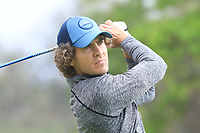 Clement Berardo (FRA) in action on 1st tee during the second round of the Magical Kenya Open presented by ABSA played at Karen Country Club, Nairobi, Kenya. 15/03/2019<br /> Picture: Golffile | Phil Inglis<br /> <br /> <br /> All photo usage must carry mandatory copyright credit (&copy; Golffile | Phil Inglis)