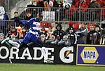 21 November 2010: Dallas' Jair Benitez (COL). The Colorado Rapids defeated FC Dallas 2-1 in overtime at BMO Field in Toronto, Ontario, Canada in MLS Cup 2010, Major League Soccer's championship game.