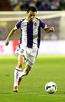 Real Valladolid´s Rukavina during La Liga match.August 31,2013. (ALTERPHOTOS/Victor Blanco)