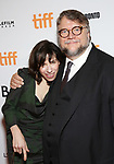 Sally Hawkins and Guillermo del Toro attends 'The Shape of Water' premiere during the 2017 Toronto International Film Festival at The Elgin on September 11, 2017 in Toronto, Canada.
