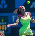 Serena Williams (USA) defeats Elina Svitolina (UKR) 4-6, 6-2, 6-0