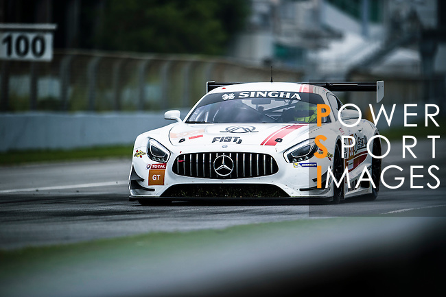 Team AAI, #92 AMG GT3, driven by Chi Huang, Li Bin and Tatsuya Tanigawa in action during the Free Practice 2 of the 2016-2017 Asian Le Mans Series Round 1 at Zhuhai Circuit on 29 October 2016, Zhuhai, China.  Photo by Marcio Machado / Power Sport Images