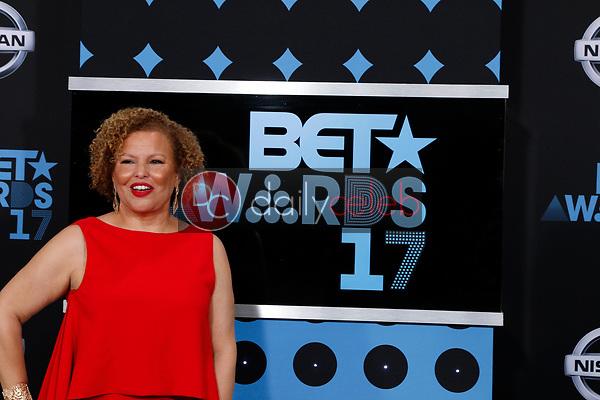 Debra L Lee<br /> at the BET Awards 2017, Microsoft Theater, Los Angeles, CA 06-25-17<br /> David Edwards/DailyCeleb.com 818-249-4998
