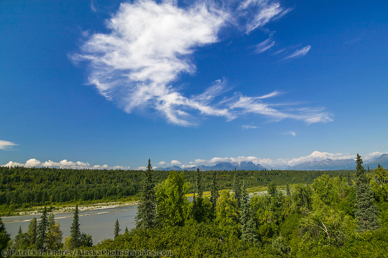 Denali View Point South, Denali State Park Turnout, along the George Parks Highway, Interior, Alaska