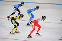 SCHAATSEN: HEERENVEEN: 01-01-2017, NK Marathonschaatsen, Erben Wennemars op de schaats met camera tijdens de NK Marathon, ©foto Martin de Jong