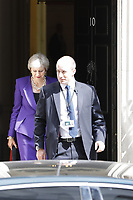 JUL 18 Prime Minister Theresa May in Downing Street