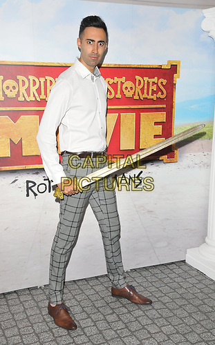 """Richard David-Caine at the """"Horrible Histories: The Movie - Rotten Romans"""" world film premiere, Odeon Luxe Leicester Square, Leicester Square, London, England, UK, on Sunday 07th July 2019.<br /> CAP/CAN<br /> ©CAN/Capital Pictures"""