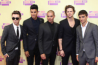 LOS ANGELES, CA - SEPTEMBER 06: The Wanted at the 2012 MTV Video Music Awards at The Staples Center on September 6, 2012 in Los Angeles, California. © mpi28/MediaPunch inc. /NortePhoto.com<br />