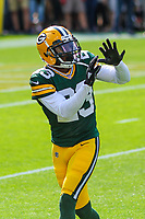 Green Bay Packers cornerback Damarious Randall (23) during a National Football League game against the Seattle Seahawks on September 10, 2017 at Lambeau Field in Green Bay, Wisconsin. Green Bay defeated Seattle 17-9. (Brad Krause/Krause Sports Photography)