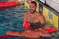 Jeremy Stravius D.C. TRIDENT Men's 50m Backstroke<br /> Napoli 12-10-2019 Piscina Felice Scandone <br /> ISL International Swimming League <br /> Photo Cesare Purini/Deepbluemedia/Insidefoto