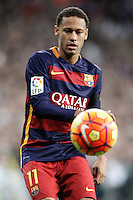 FC Barcelona's Neymar Santos Jr during La Liga match. November 21,2015. (ALTERPHOTOS/Acero) /NortePhoto
