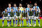 Real Sociedad squad pose for team photo during the La Liga 2018-19 match between Atletico de Madrid and Real Sociedad at Wanda Metropolitano on October 27 2018 in Madrid, Spain.  Photo by Diego Souto / Power Sport Images