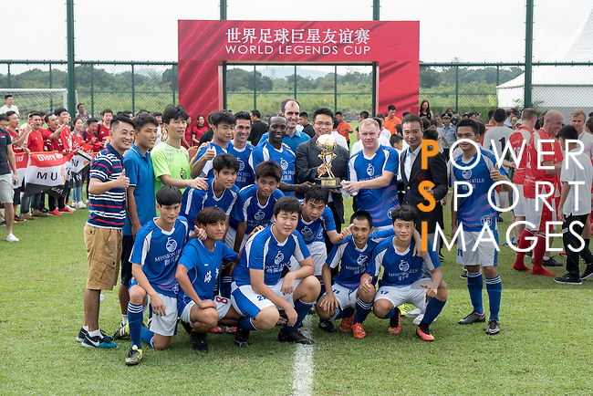 World Legends Cup on the sidelines of the World Celebrity Pro-Am 2016 Mission Hills China Golf Tournament on 21 October 2016, in Haikou, China. Photo by Weixiang Lim / Power Sport Images