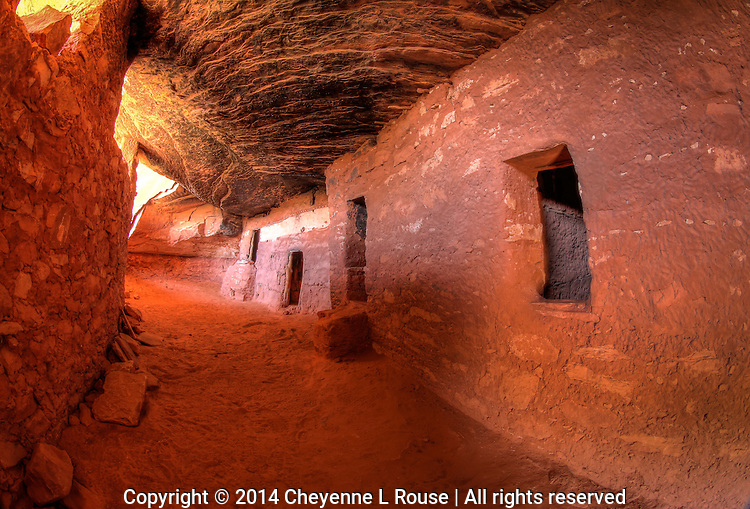 Moon House Hallway - Utah - Cedar Mesa